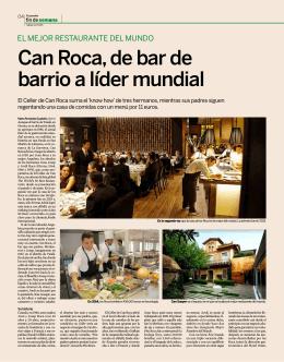 Can Roca, de bar de barrio a líder mundial