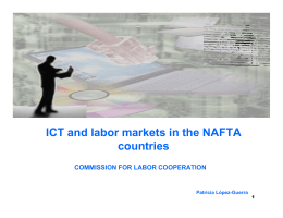 ICT and labor markets in the NAFTA countries