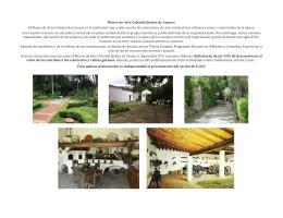 Museo de Arte Colonial Quinta de Anauco El Museo de Arte