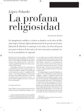 López Velarde: - Revista de la Universidad de México