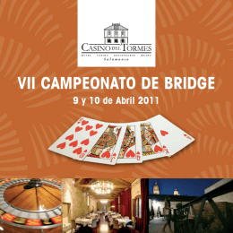 vii campeonato de bridge