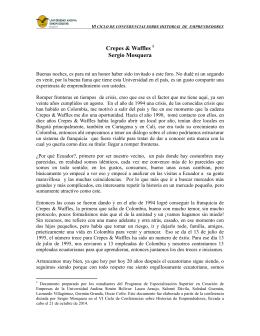 Crepes & Waffles(1). - Universidad Andina Simón Bolívar