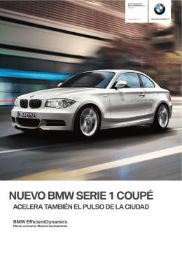 NUEVO BMW SERIE 1 COUPÉ