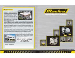 Catálogo general de equipos Masisa.