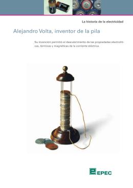 Alejandro Volta, inventor de la pila
