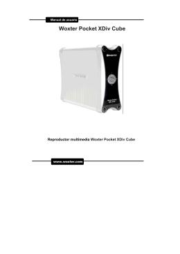 Woxter Pocket XDiv Cube - Recambios, accesorios y repuestos
