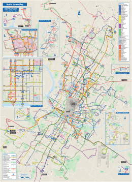 Austin - Bus Route Map - University of Texas Libraries