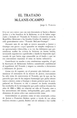 EL TRATADO McLANE