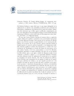 GALEANA, Patricia, El Tratado McLane-Ocampo - E-journal