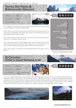 Torres Del Paine & Balmaceda Glaciers El Circuito