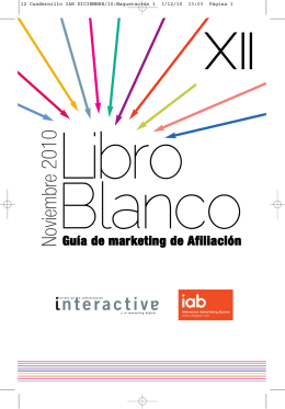 Libro Blanco del Marketing de Afiliación