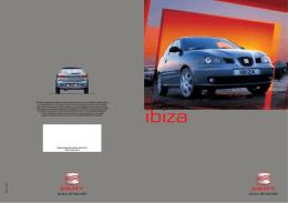 8P. IBIZA nacional 2002 + tecn.