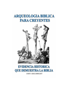 Arqueologia Biblica Para Creyentes