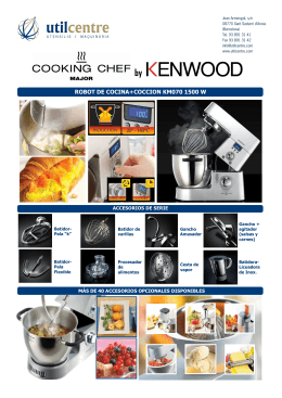 BATIDORA KENWOOD COOKING CHEF
