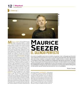 Maurice - Festival Internacional de Cine en Guadalajara