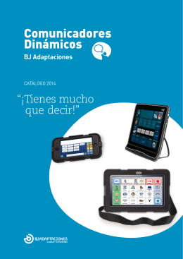 Catálogo completo de comunicadores dinámicos