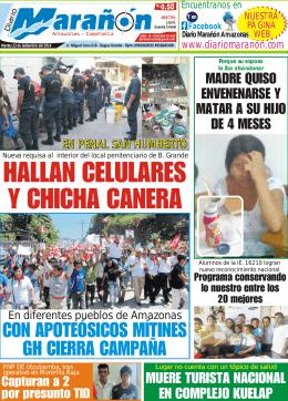 HALLAN CELULARES Y CHICHA CANERA