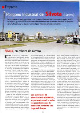 Reportaje Silvota 30 años - ASEMPOSIL Asociación de