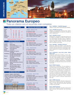 E-1421 Panorama Europeo