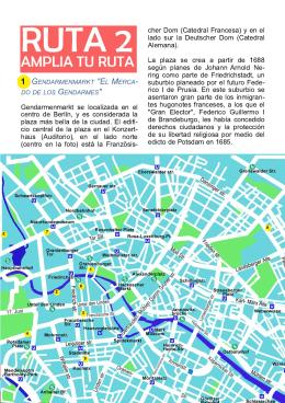 RUTA 2 - Guía de Berlín