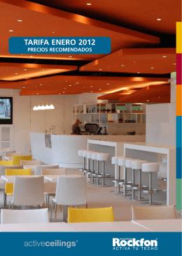 TARIFA ENERO 2012