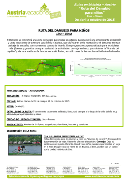 + info en PDF - Austria Vacaciones