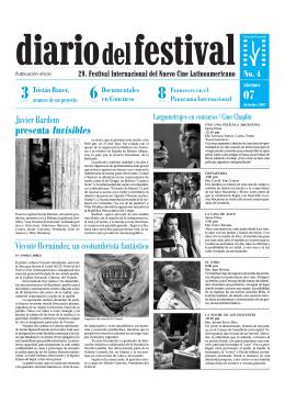 Javier Bardem presenta Invisibles