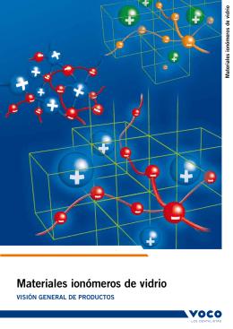 Materiales ionómeros de vidrio