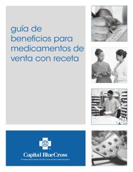 guía de beneficios para medicamentos de venta con receta