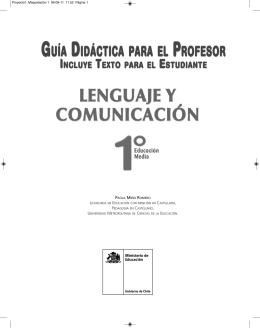 Guía - Ministerio de educación