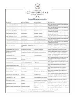 Descarga nuestro listado de productos en PDF.