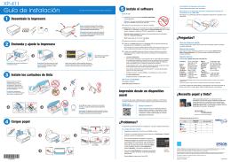 Guía de instalación