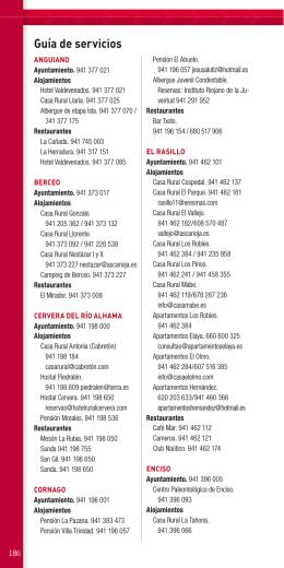Guía de servicios - Gobierno de La Rioja