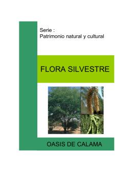 FLORA SILVESTRE - Centro de Estudios Agrarios y Ambientales