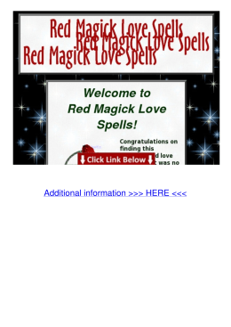 Website Red Magic Love Spells 1mls
