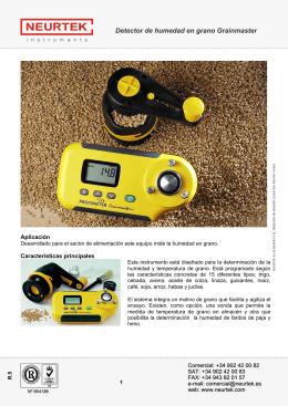 Detector de humedad en grano Grainmaster