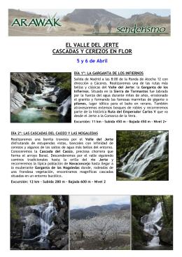 V668 Cascadas y Cerezos Valle Jerte
