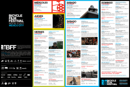 MEXICO CITY - Bicycle Film Festival