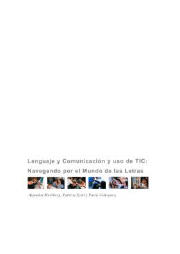 Lenguaje y Comunicación y uso de TIC
