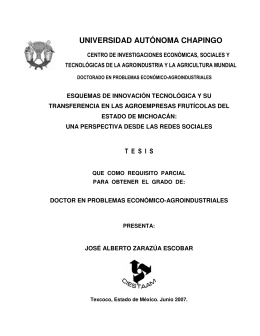 UNIVERSIDAD AUTÓNOMA CHAPINGO - Inicio