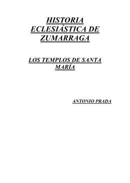 HISTORIA ECLESIÁSTICA DE ZUMARRAGA