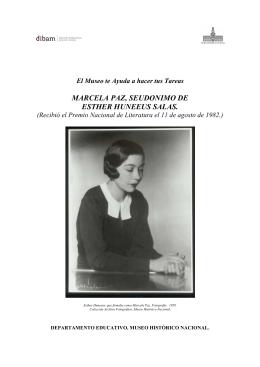 Marcela Paz - Museo Histórico Nacional