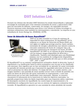 Sonar de detección de buzos AquaShield