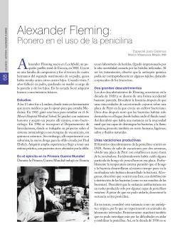 alexander Fleming: