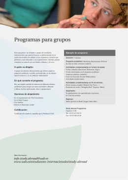 Spanish language campus - Universitat Autònoma de Barcelona