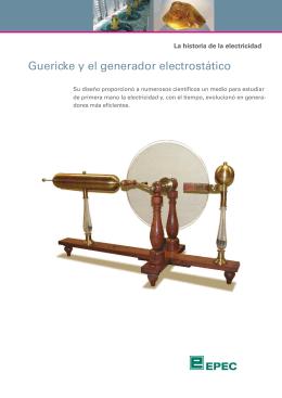 Guericke y el generador electrostático