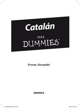 Catalán - Ferran Alexandri