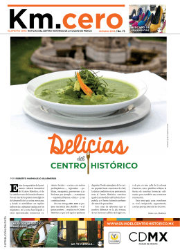 km. cero - Guía del Centro Histórico de la Ciudad de México