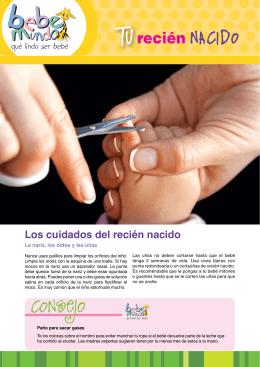 Los cuidados del recién nacido