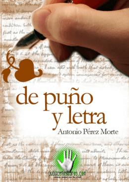 De puño y letra - Publicatuslibros.com